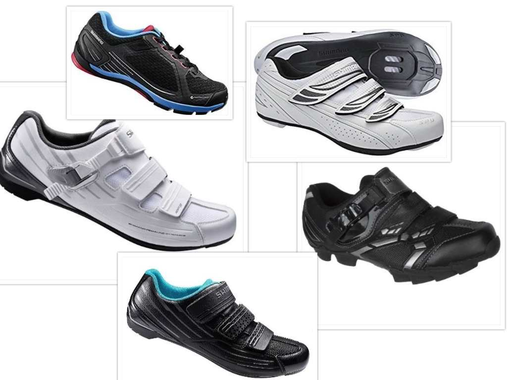 shimano womens road cycling shoes collage