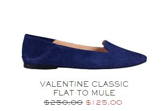 blue flat sale