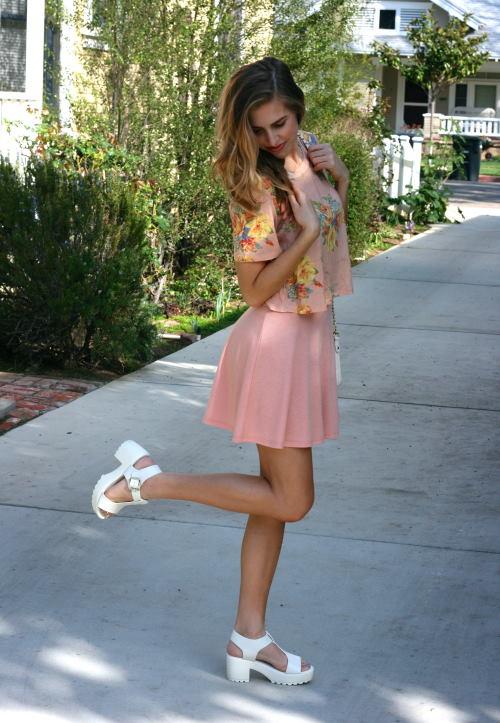 summer platform white sandals