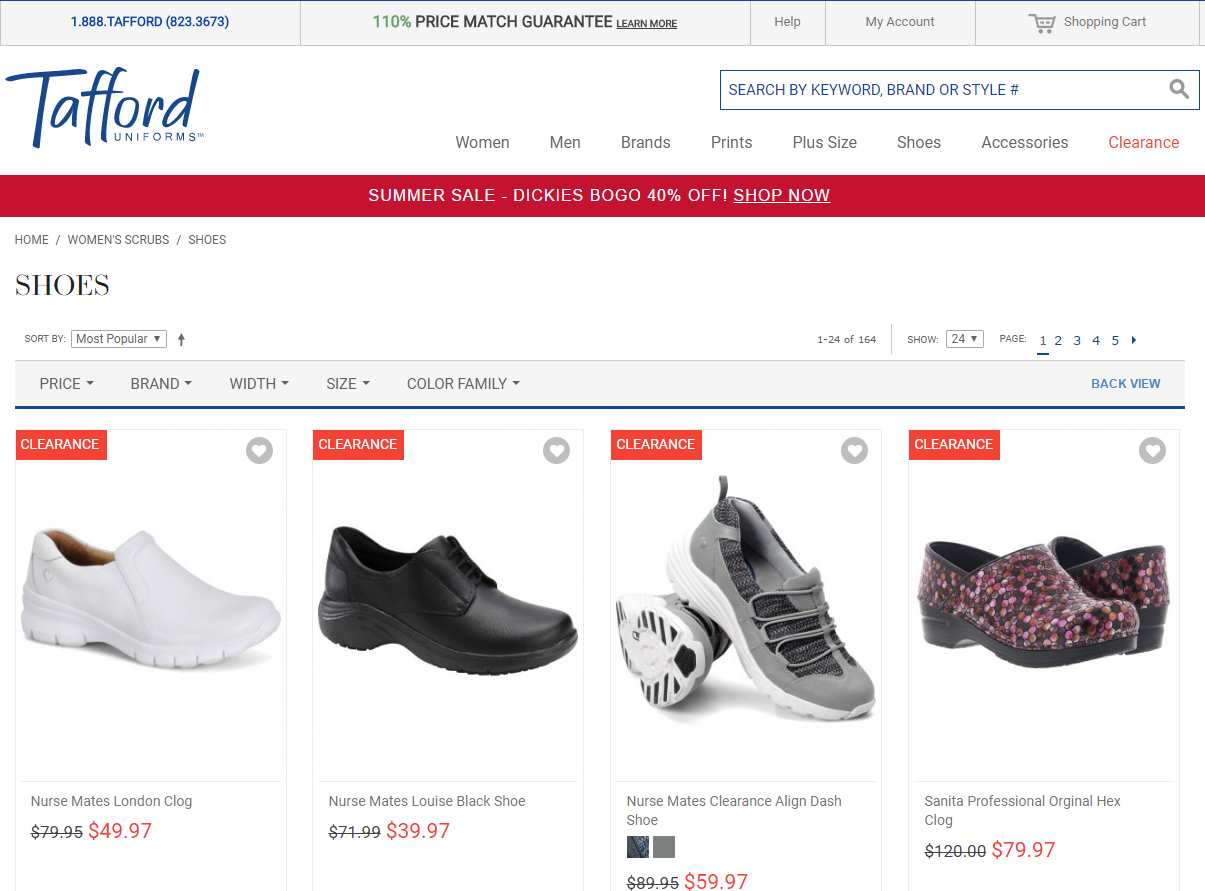 Tafford Shoes For Women