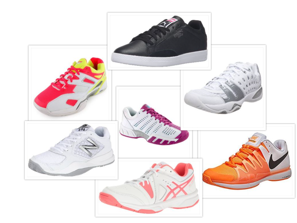 Tennis Sneakers Collage