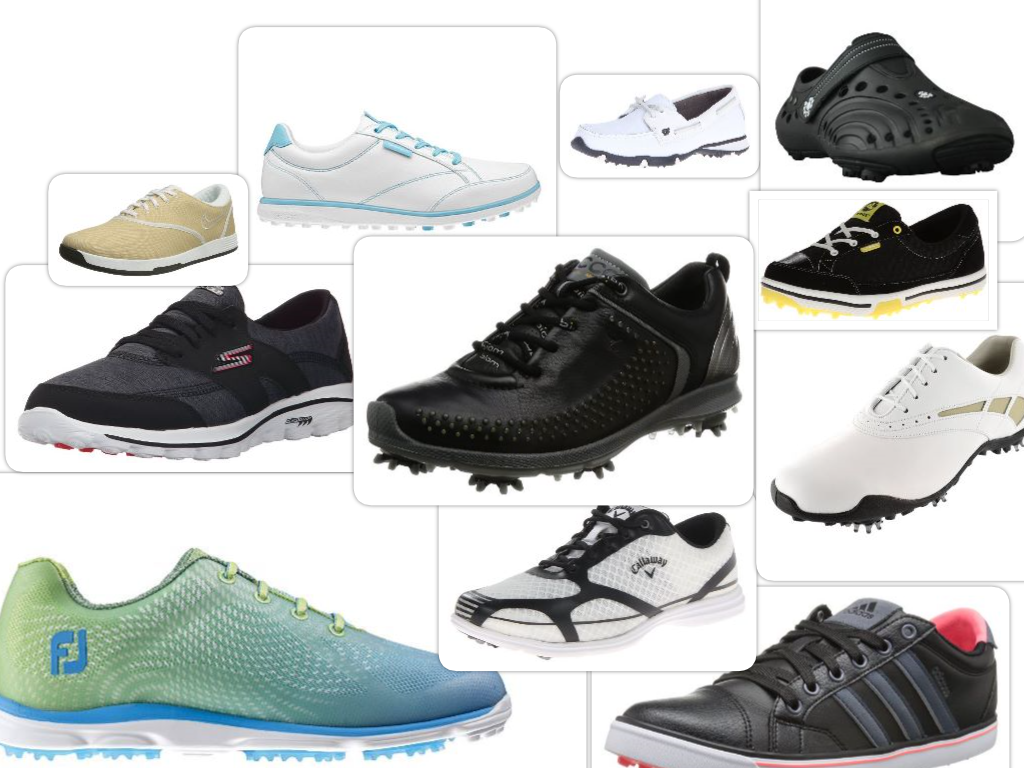 The Best Golf Shoes Collage