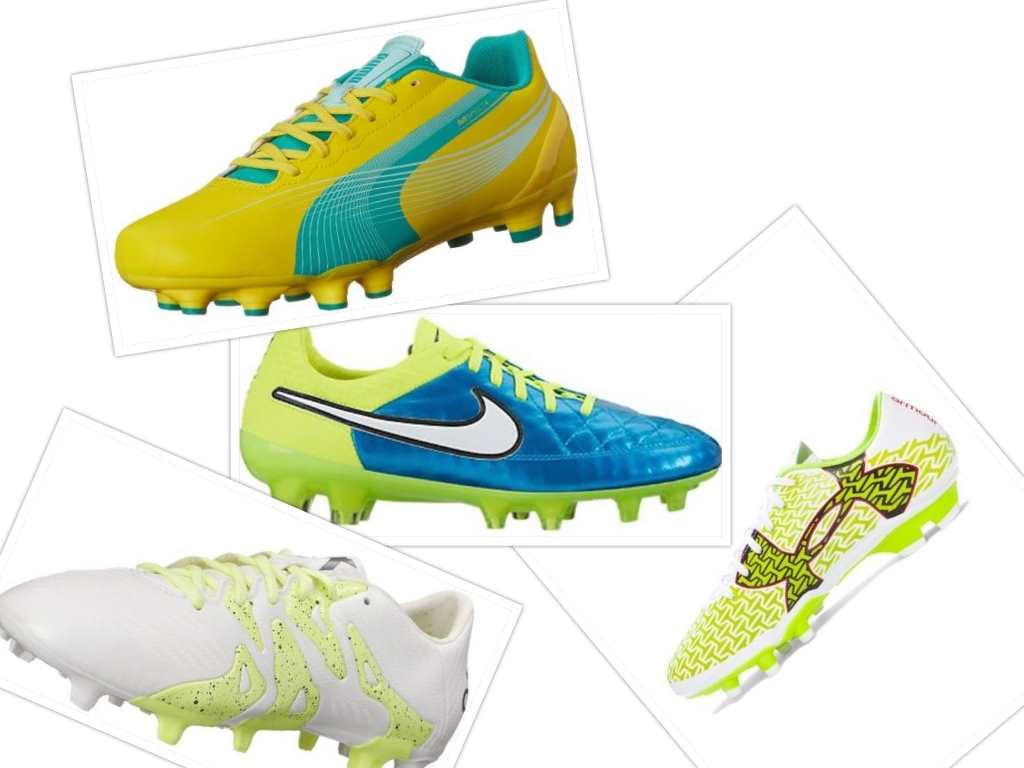 the best soccer cleats collage