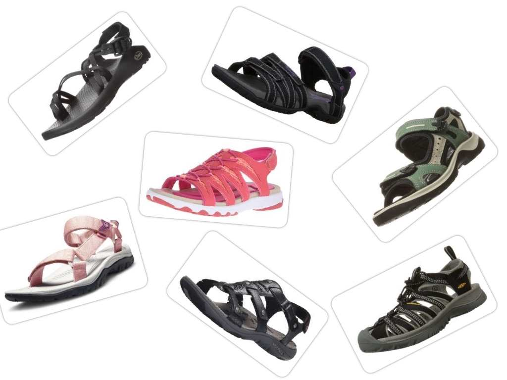 the best sport sandals collage