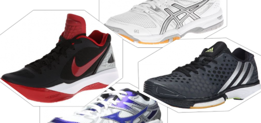 The Best Volleyball Shoes Collage