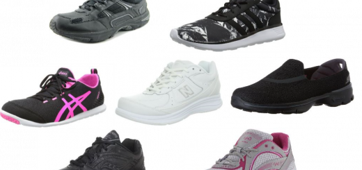 The Best Walking Shoes Collage
