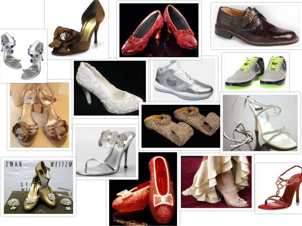 the most expensive shoes collage
