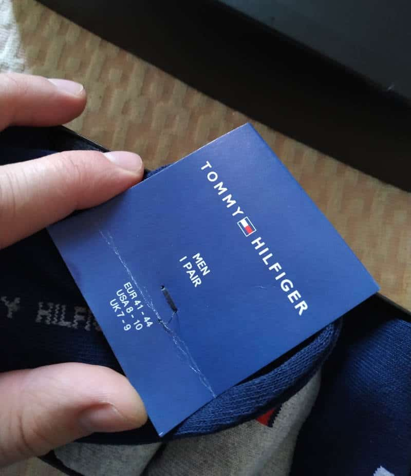 Tommy Hilfiger Socks Sticker