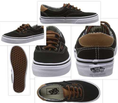 vans skate shoe collage