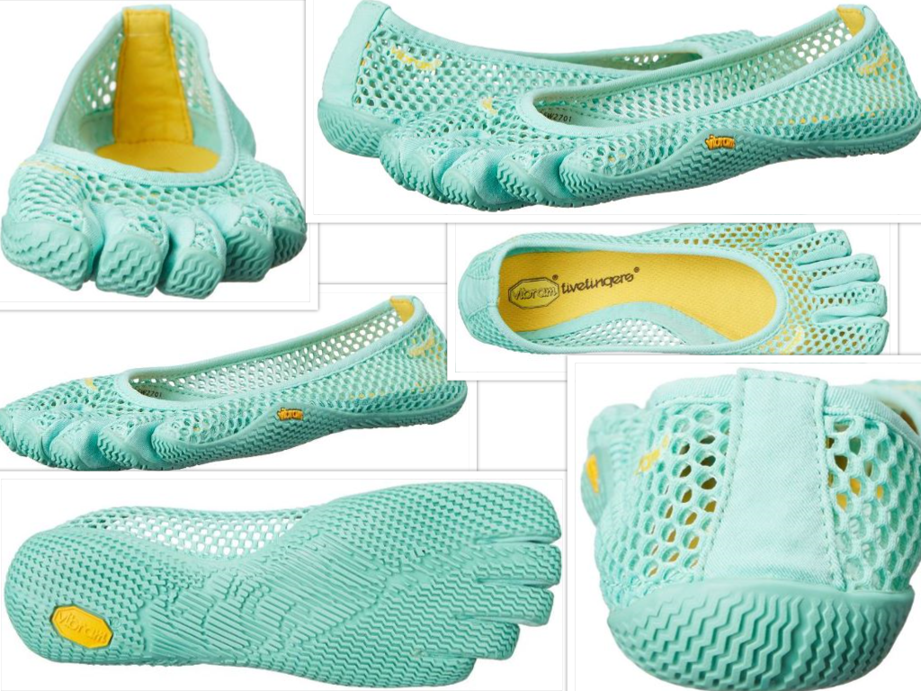 Vibram Women's VI-B Fitness and Yoga Shoe Collage