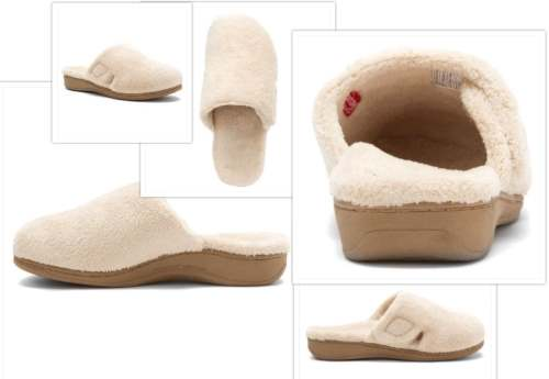 vionic gemma slipper collage