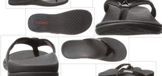 Vionic tIde sandals collage