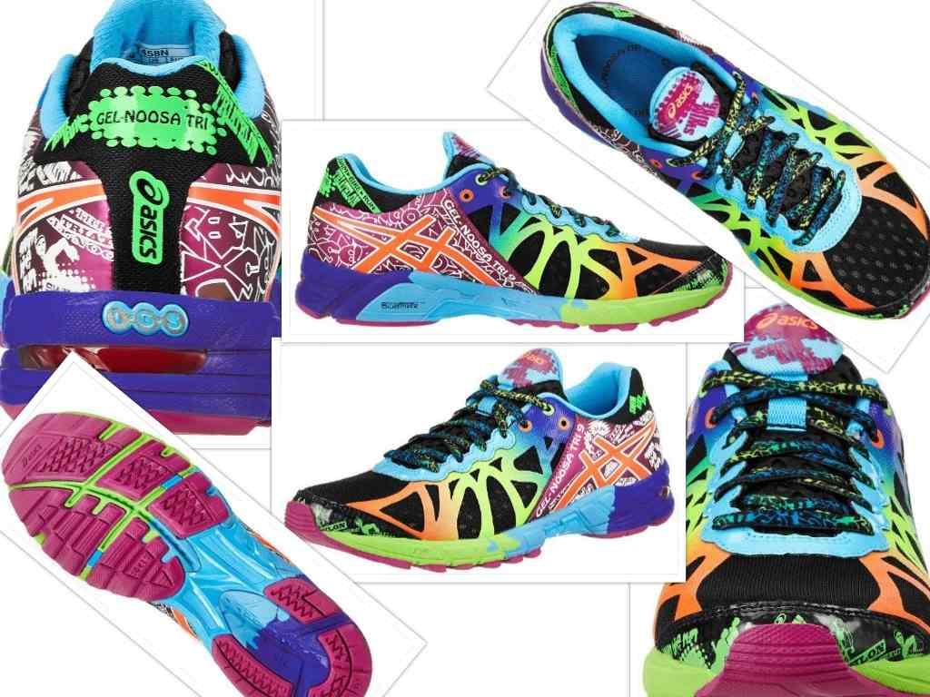 womens gel noosa tri 9 running shoe collage