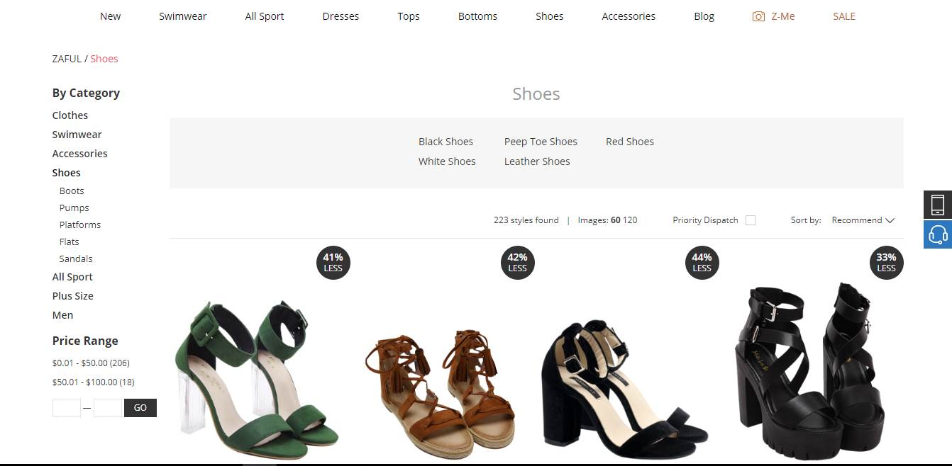 Zaful Shoe Assortment